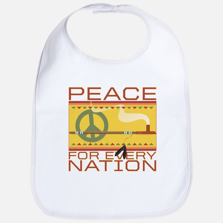 Peace for Every Nation Bib