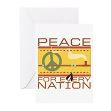 Peace for Every Nation Greeting Cards (Pk of 10)