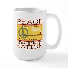 Peace for Every Nation Mug