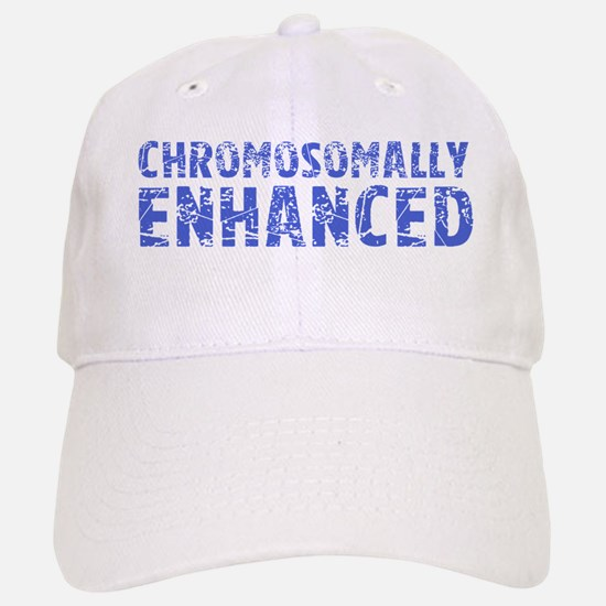 Chromosomally Enhanced Baseball Baseball Cap