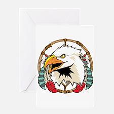 Eagle Dream Catcher Greeting Card