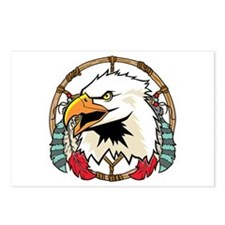Eagle Dream Catcher Postcards (Package of 8)