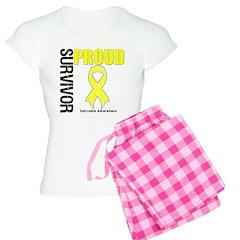 Sarcoma Proud Survivor Pajamas