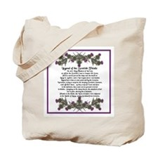 Thistle Legend Tote Bag