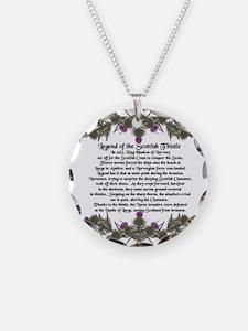 Thistle Legend Necklace