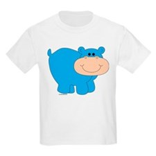 HIPPO COLOR-ME-IN Kids T-Shirt
