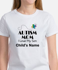 Personalized Autism Mom Tee