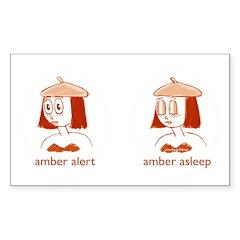 Amber Alert Decal