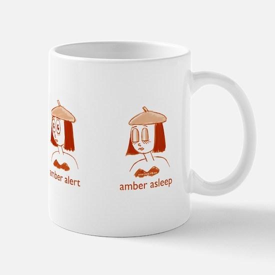 Amber Alert Mug