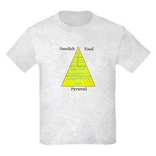 Swedish Food Pyramid T-Shirt