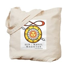 Sun / Wheel / Magician Tote Bag