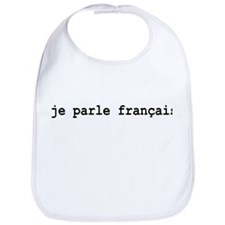 I Speak French Bib