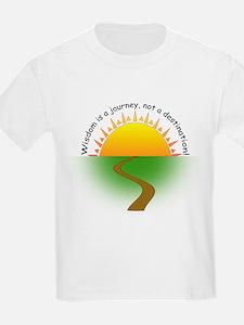 Wisdom is a journey! T-Shirt