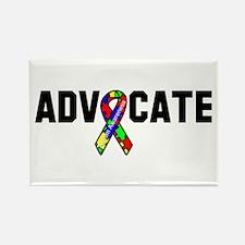 Advocate Autism Rectangle Magnet