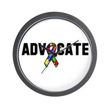 Advocate Autism Wall Clock