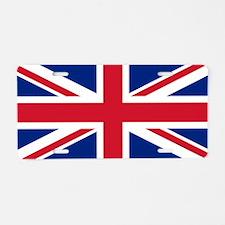 Great Britain Union Flag Aluminum License Plate