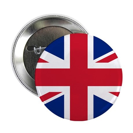 """Great Britain Union Flag 2.25"""" Button (10 pack)"""