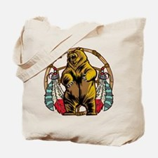Bear Dream Catcher Tote Bag