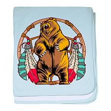 Bear Dream Catcher baby blanket