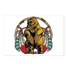 Bear Dream Catcher Postcards (Package of 8)