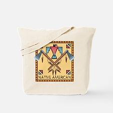 Native American Tomahawks Tote Bag