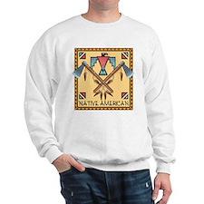Native American Tomahawks Sweatshirt