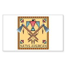 Native American Tomahawks Decal