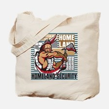 Indian Homeland Security Tote Bag