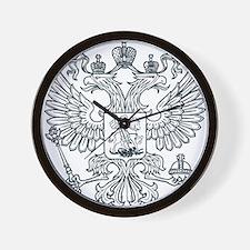 Eagle Coat of Arms Wall Clock