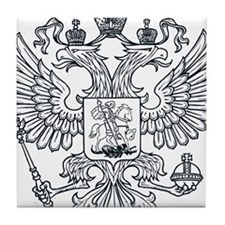 Eagle Coat of Arms Tile Coaster