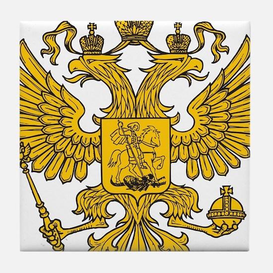 Eagle Coat of Arms Tile Coaster