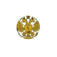 Eagle Coat of Arms Mini Button