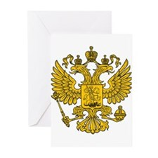 Eagle Coat of Arms Greeting Cards (Pk of 20)