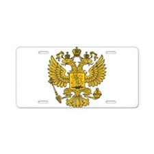 Eagle Coat of Arms Aluminum License Plate