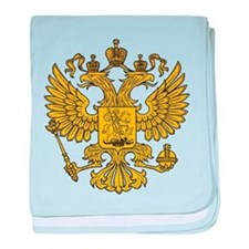 Eagle Coat of Arms baby blanket