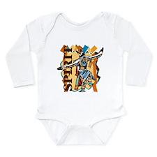 Native American Spirit Long Sleeve Infant Bodysuit