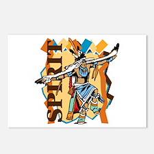 Native American Spirit Da Postcards (Package of 8)