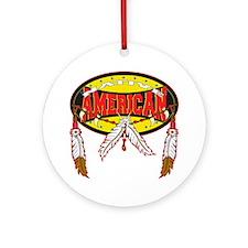Native American Ornament (Round)