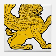 Persian Lion Tile Coaster