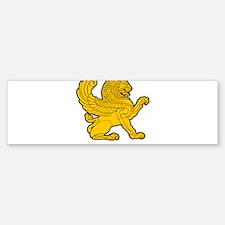 Persian Lion Bumper Bumper Sticker