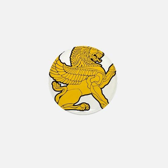 Persian Lion Mini Button