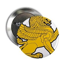"Persian Lion 2.25"" Button"