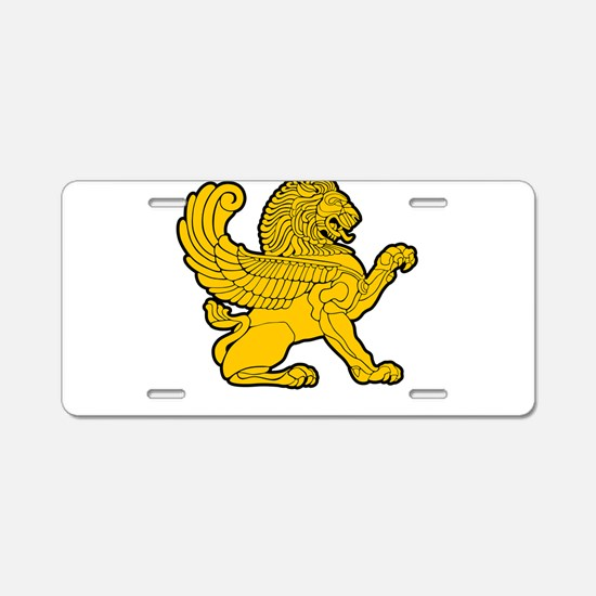 Persian Lion Aluminum License Plate