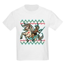 Indian Warrior on Horse T-Shirt