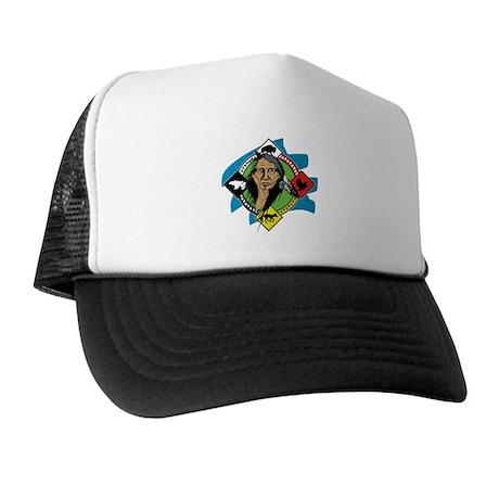 Native American Medicine Wheel Trucker Hat