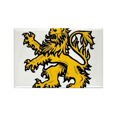 Lion Heart Rectangle Magnet (10 pack)