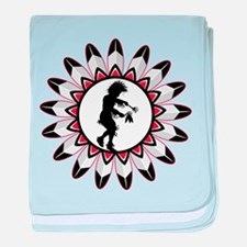 Native American Indian Dance baby blanket
