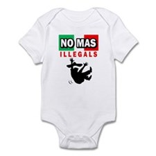 No Mas Illegals Infant Creeper