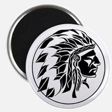 """Indian Chief Head 2.25"""" Magnet (10 pack)"""