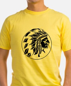 Indian Chief Head T